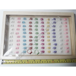 S584 Кольца (цена за 100 шт. в упаковке)