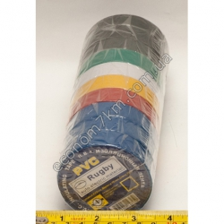 S659 Изолента 20 м цветная (в упаковке 10 шт.) (цена за упаковку)