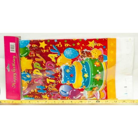 S684 Скатерть детская для Дня Рождения