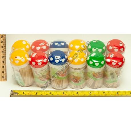 S721 Зубочистки в упаковке (12 шт.) (цена за упаковку)