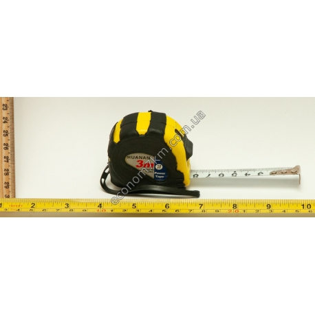S783 Рулетка (3 м) жёлтая