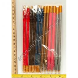 S793 Карандаши для глаз цветные.в упаковке 12шт.(цена за упаковку)