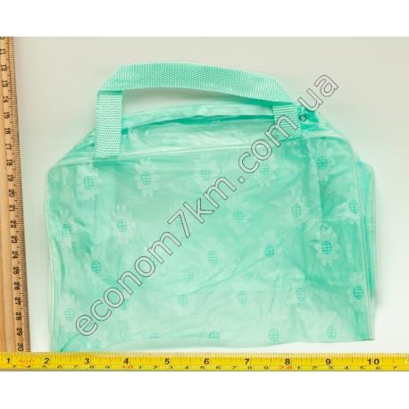 S826 Косметичка прозрачная простая